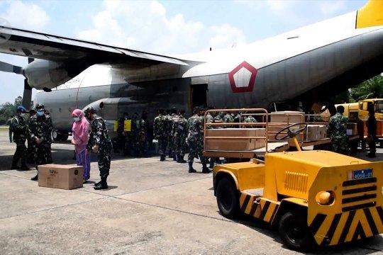 6000 unit APD tahap II tiba di Riau