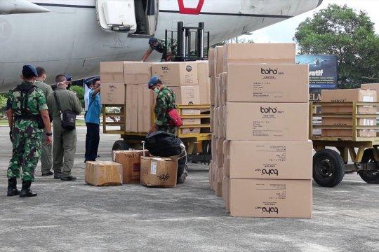 Aceh terima 15 ribu masker dan 3000 APD