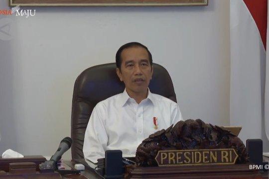 Pembagian bansos warga DKI dimulai, Jokowi minta tepat sasaran