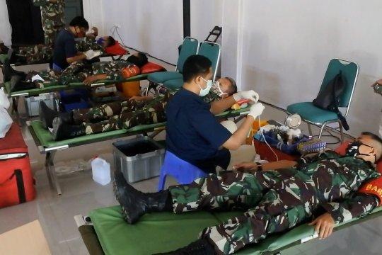 Minim stok darah, PMI sasar Markas Kodim 0506 Tangerang