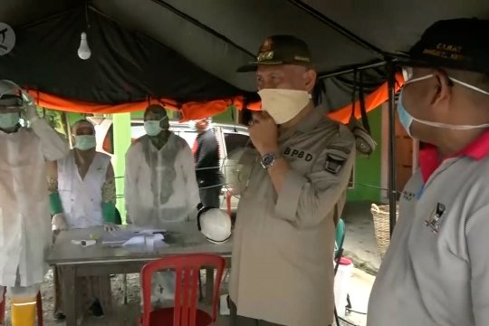 Mulai berlaku, denda masker di Padang