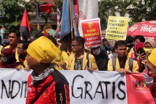 Polda Jateng tak izinkan unjuk rasa hari buruh
