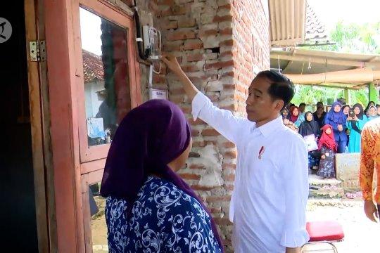 Presiden minta percepatan pengaliran listrik di 433 desa