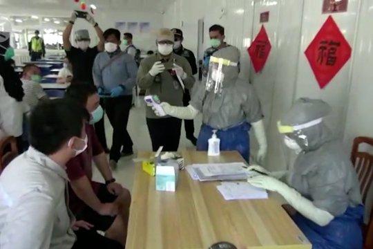 Puluhan TKA ilegal asal China dipulangkan bertahap