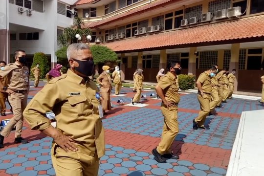 Walkot Tangerang ajak warga kenakan masker untuk saling jaga