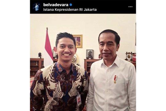Belva Devara mundur dari Stafsus Milenial Jokowi
