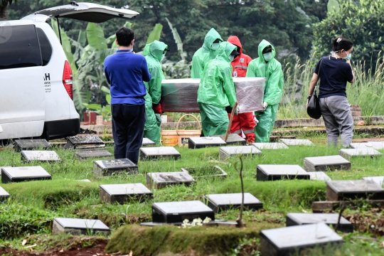Pemprov DKI makamkan 639 jenazah terkait COVID-19, per 6 April