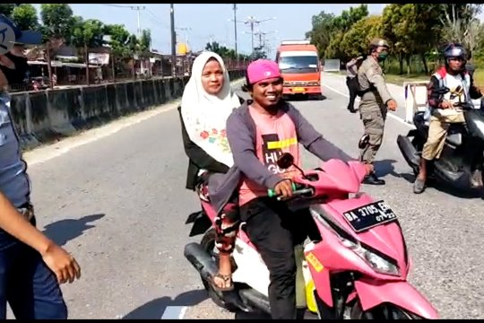 Polda Riau buka opsi sanksi bagi pelanggar PSBB