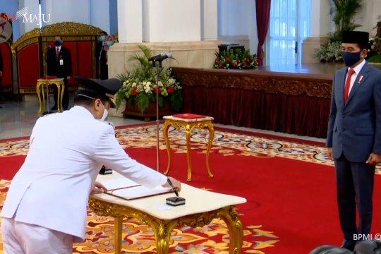 Presiden lantik Wagub DKI Ahmad Riza Patria