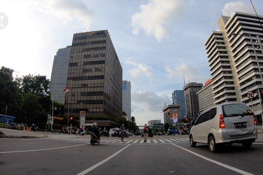 Suasana Jakarta H-1 Operasi Ketupat 2020