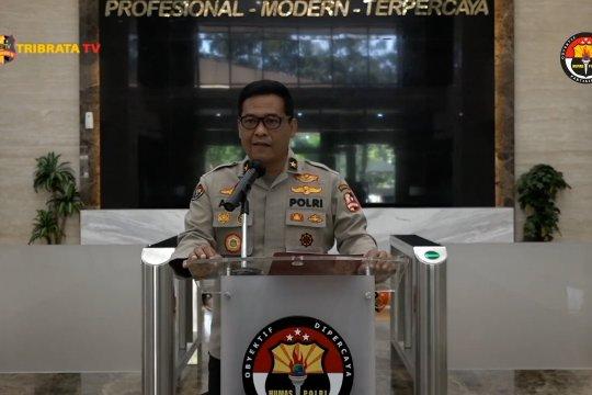 Telegram Kapolri larang anggota dan PNS Polri mudik
