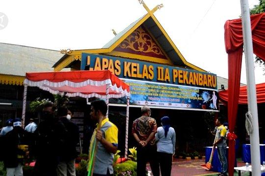 2.000 napi di Riau dapat asimilasi dan hak integritas anak