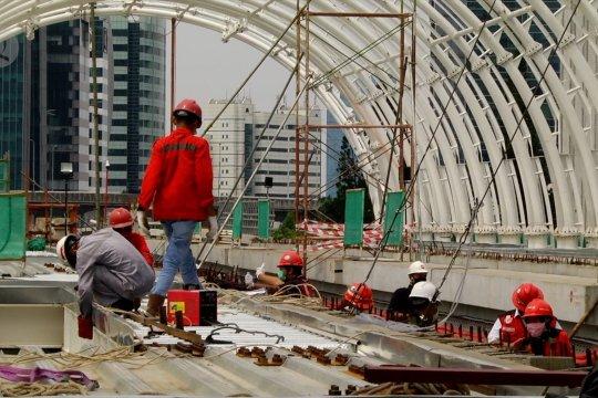 Adhi Karya lanjutkan proyek LRT Jabodebek