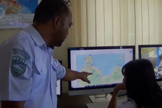 Aktivitas sesar Palu Koro, gempa magnitudo 5,1 guncang Sigi