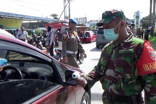 Per 1 April, 11 titik perbatasan Kota Kendari dijaga ketat
