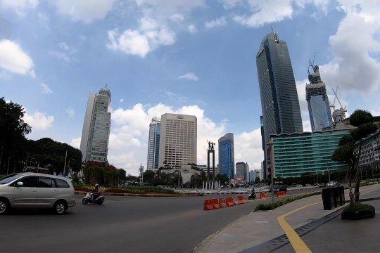 Resmi dapatkan status PSBB, seperti apa jalanan di Jakarta?