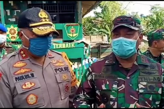 TNI -Polri tingkatkan sinergi bersama jaga Papua