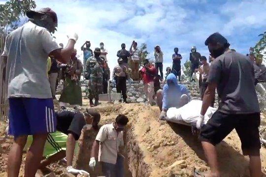 Jasad terduga teroris asal Ambon dimakamkan di Palu