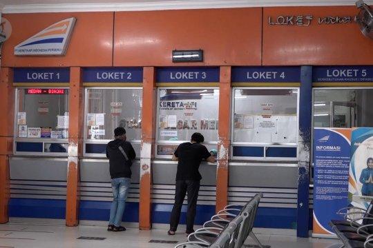 Kereta api di Sumut hanya layani 4 perjalanan lokal