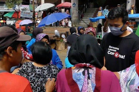 Masker gratis dari petani tembakau Temanggung