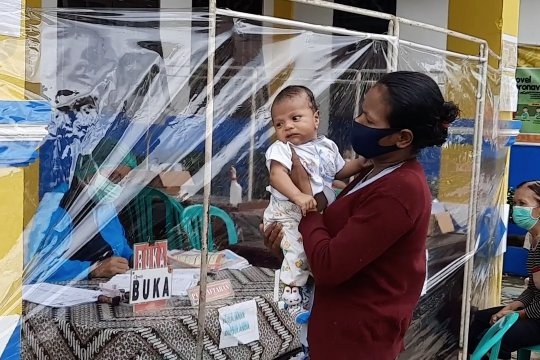 Pelayanan imunisasi tetap berjalan sesuai jadwal