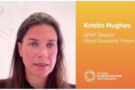 Pesan perwakilan World Economic Forum untuk Indonesia soal plastik