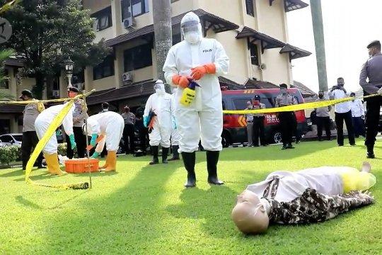 Polda DIY bentuk tim khusus pemakaman korban COVID-19