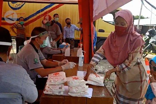 Operasi gula murah di Pasar Kranggot Cilegon