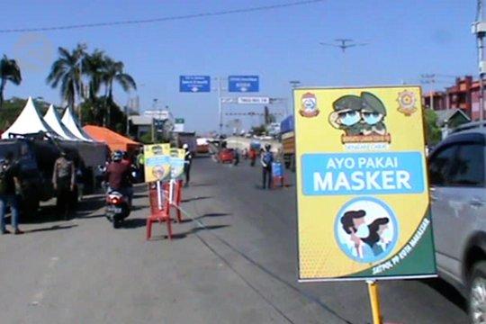 Uji coba PSBB di Kota Makassar
