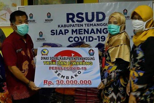 Pembagian 2.700 masker di Ternate,  450 APD di Temanggung, dan stok APD Babel