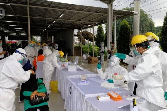 Pemprov Jabar gelar Swab PCR Test COVID-19 di Stasiun Bogor
