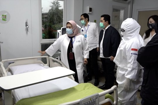 Pertamina siapkan RS darurat dan rujukan COVID-19