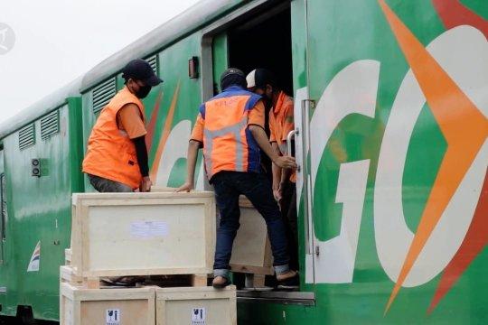 KAI maksimalkan Rail Express untuk antar sembako dan barang retail