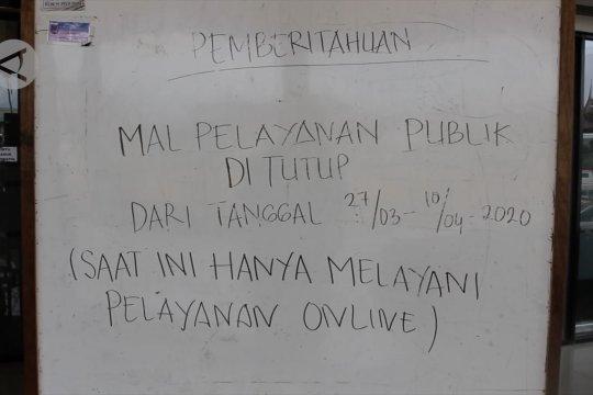 Mal Pelayanan Publik tutup, urus perizinan kembali ke dinas terkait