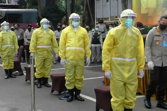 Polresta Malang Kota siagakan relawan tangani pasien COVID-19 meninggal