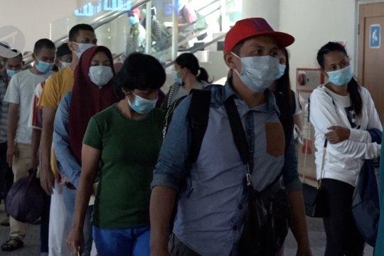 Ratusan TKI dari Malaysia masuk wilayah Sumut