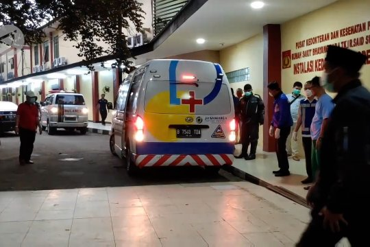 RS Polri kirim jenazah wakil jaksa agung ke rumah duka