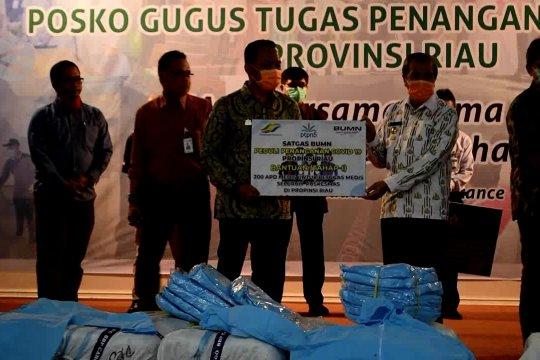 Sinergi BUMN untuk penanganan COVID-19 di Riau