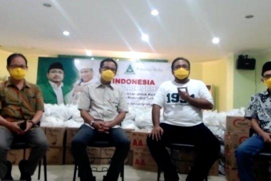Bantu terdampak COVID-19, GP Ansor gandeng Keuskupan Agung Pontianak