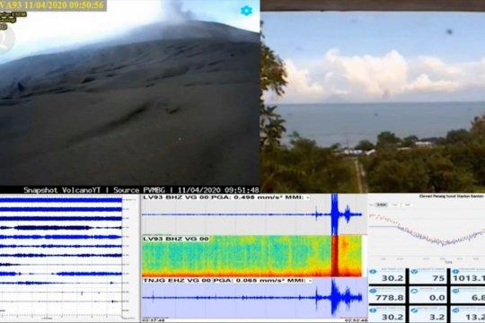 BMKG : suara dentuman bukan dari erupsi Gunung Anak Krakatau