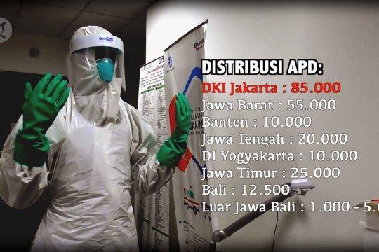 DKI Jakarta terima distribusi APD terbanyak