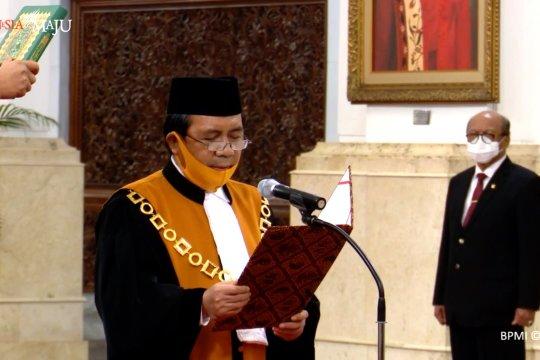 Jokowi lantik Syarifuddin jadi Ketua Mahkamah Agung