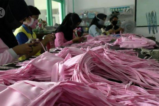 Lapas Wanita Malang penuhi order 10 ribu masker