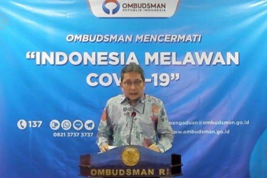 Ombudsman RI : RS rujukan COVID-19 belum sepenuhnya siap
