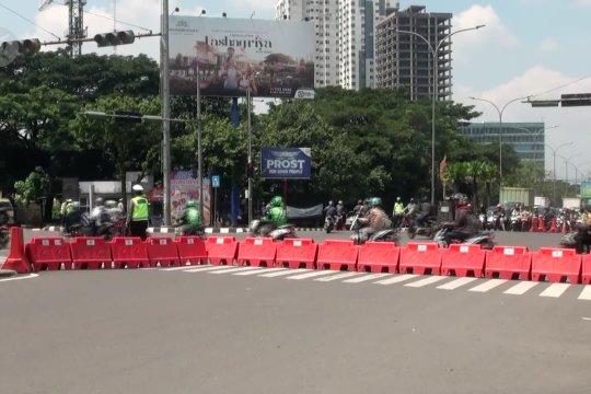 Optimalkan PSBB, penutupan jalan di Bandung diperluas