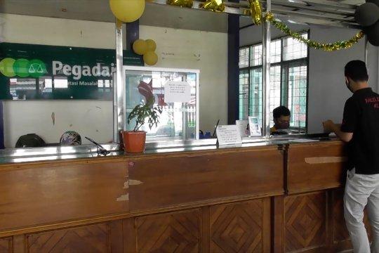 Penyaluran pinjaman pegadaian Pangkalpinang turun hingga Rp2,8 M