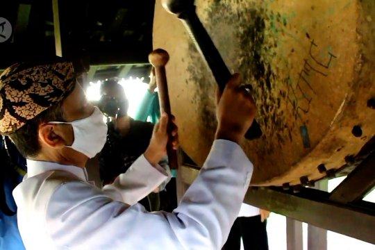 Tradisi tabuh bedug Drug Dag tandai awal Ramadhan