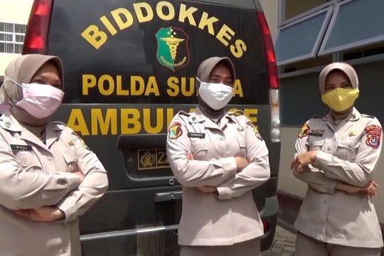 Cerita para srikandi Biddokkes Polda Sultra tangani pasien COVID-19