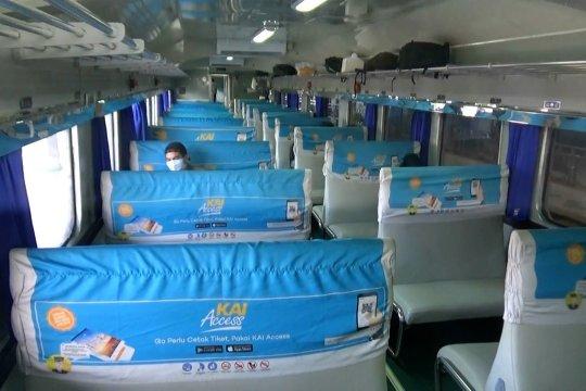 KA Sancaka dibatalkan sampai 30 April karena penumpang turun drastis