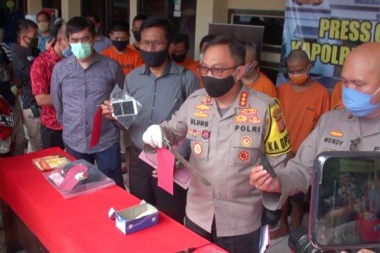 Polrestabes Bandung tindak tegas pelaku kejahatan di tengah pandemi